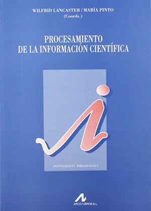 PROCESAMIENTO DE LA INFORMACIÓN CIENTÍFICA