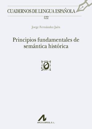 PRINCIPIOS FUNDAMENTALES DE SEMÁNTICA HISTÓRICA