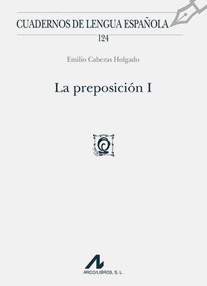 LA PREPOSICIÓN I