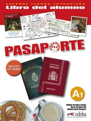 PASAPORTE 1 (A1) - LIBRO DEL ALUMNO  + CD AUDIO