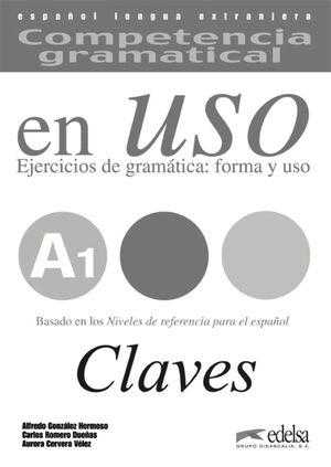 COMPETENCIA GRAMATICAL EN USO A1 - LIBRO DE CLAVES