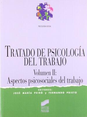 TRATADO DE PSICOLOGÍA DEL TRABAJO II