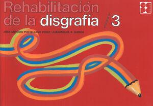DISGRAFIA 3 REHABILITACION 3 CR49
