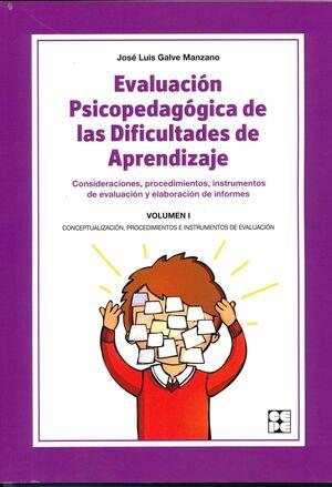 EVALUACIÓN PSICOPEDAGÓGICA DE LAS DIFICULTADES DE APRENDIZAJE 1