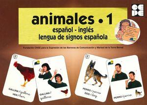 VOCABULARIO FOTOGRÁFICO ELEMENTAL - ANIMALES 1 (GRANJA)