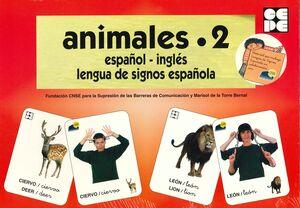 VOCABULARIO FOTOGRÁFICO ELEMENTAL - ANIMALES 2 (SALVAJES)