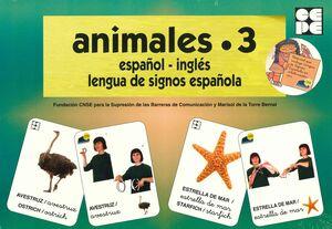 VOCABULARIO FOTOGRÁFICO ELEMENTAL - ANIMALES 3 (MARINOS)