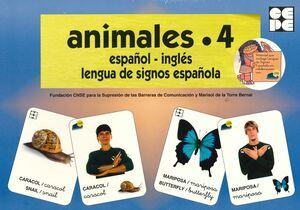 VOCABULARIO FOTOGRÁFICO ELEMENTAL - ANIMALES 4 (INSECTOS)