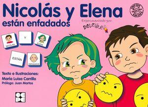 PICTOGRAMAS: NICOLÁS Y ELENA ESTÁN ENFADADOS