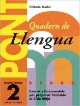 PONT LLENGUA, 2 EDUCACIÓ PRIMÀRIA (PAS DE 2N A 3R CICLE)