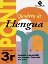 PONT, LLENGUA, 3 EDUCACIÓ PRIMÀRIA
