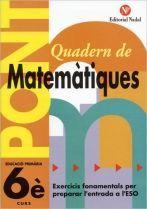 PONT, MATEMÀTIQUES, 5 EDUCACIÓ PRIMÀRIA