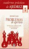 PROBLEMAS DE APERTURA