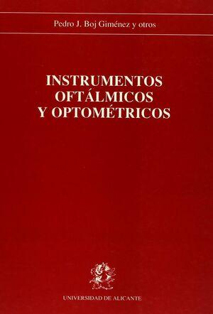 INSTRUMENTOS OFTÁLMICOS Y OPTOMÉTRICOS