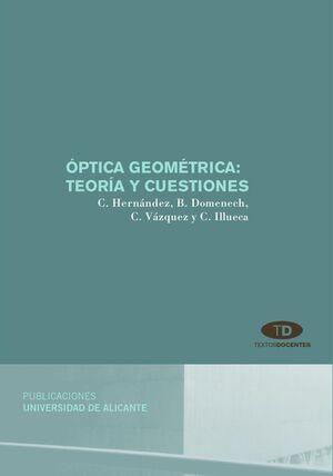 ÓPTICA GEOMÉTRICA: TEORÍA Y CUESTIONES