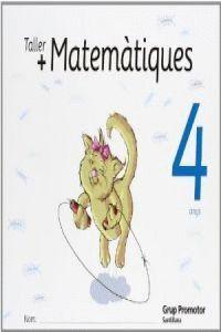 TALLER MAS MATEMATIQUES 4 ANYS