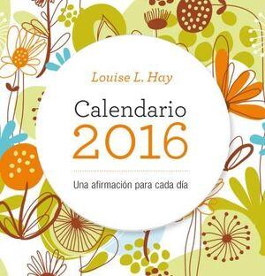 CALENDARIO LOUISE HAY 2016