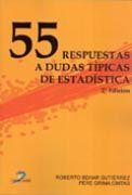 55 RESPUESTAS A DUDAS TÍPICAS DE ESTADÍSTICA