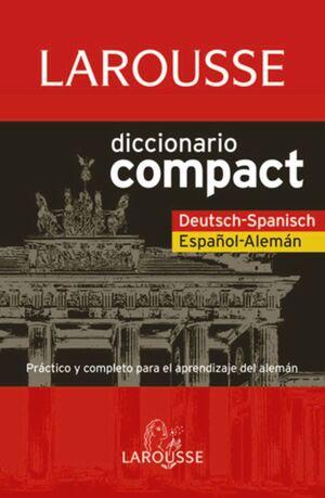 DICCIONARIO COMPACT ESPAÑOL-ALEMÁN, DEUTSCH-SPANISCH