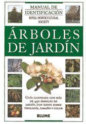 MANUAL IDENTIFICACION. ÁRBOLES DE JARDÍN