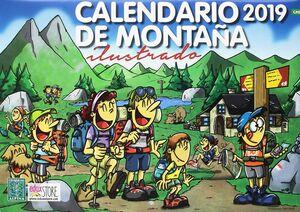 CALENDARIO DE MONTAÑA ILUSTRADO 2019