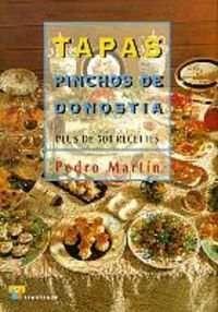 TAPAS PINCHOS DE DONOSTIA (FRANCÉS). PLUS DE 500 RECETES