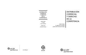 DISTRIBUCIÓN COMERCIAL Y DERECHO DE LA COMPETENCIA