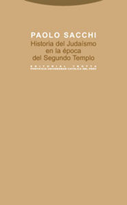 HISTORIA DEL JUDAÍSMO EN LA ÉPOCA DEL SEGUNDO TEMPLO