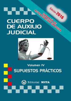 CUERPO DE AUXILIO JUDICIAL IV SUPUESTOS PRACTICOS