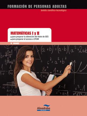 MATEMÁTICAS I Y II GES/CFGS