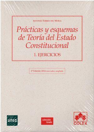 PRÁCTICAS Y ESQUEMAS DE TEORÍA DEL ESTADO CONSTITUCIONAL 1. EJERCICIOS. 2ª EDICIÓN 2014
