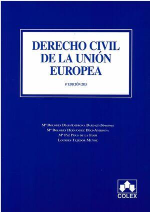 DERECHO CIVIL DE LA UNION EUROPEA