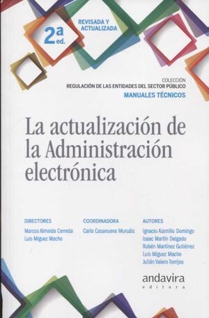 LA ACTUALIZACIÓN DE LA ADMINISTRACIÓN ELECTRÓNICA