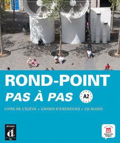 NOVEAU ROND POINT PAS À PAS A2  LIVRE DE L´ÉLEVE+ CAHIER D'EXERCISES + CD