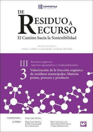 VALORACIÓN DE LA FRACCIÓN ORGÁNICA DE RESIDUOS MUNICIPALES: MATERIA PRIMA, PROCE