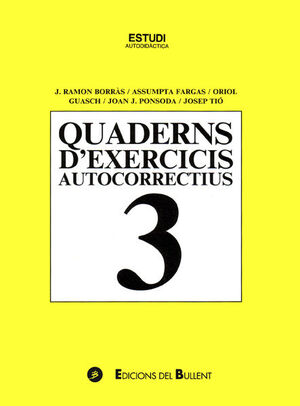 QUADERNS D'EXERCICIS AUTOCORRECTIUS 3