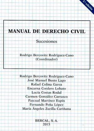 MANUAL DE DERECHO CIVIL. DERECHOS DE SUCESIONES