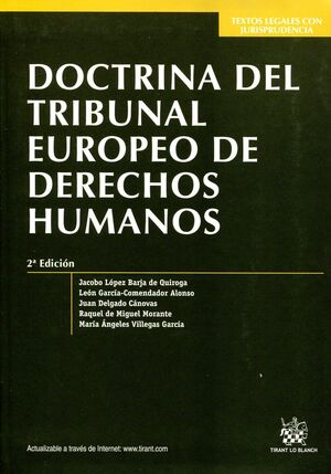 DOCTRINA DEL TRIBUNAL EUROPEO DE LOS DERECHOS HUMANOS