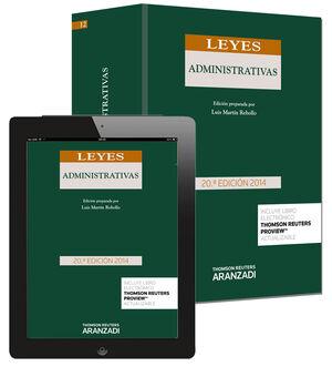 LEYES ADMINISTRATIVAS (PAPEL + E-BOOK)