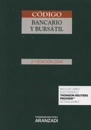 CÓDIGO BANCARIO Y BURSÁTIL (PAPEL + E-BOOK)