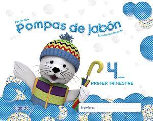 POMPAS DE JABÓN 4 AÑOS. 1º TRIMESTRE.