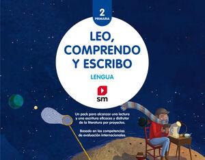 LENGUA: LEO, COMPRENDO Y ESCRIBO. 2 PRIMARIA. PACK