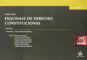 TOMO XXII ESQUEMAS DE DERECHO CONSTITUCIONAL 4ª EDICIÓN 2015
