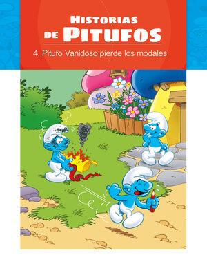 LOS PITUFOS - HISTORIAS DE PITUFOS- PITUFO VANIDOSO PIERDE SUS MODALES