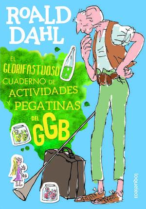 EL GLORIFASTUOSO CUADERNO DE ACTIVIDADES Y PEGATINAS DEL GGB