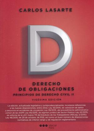 PRINCIPIOS DE DERECHO CIVIL TOMO II