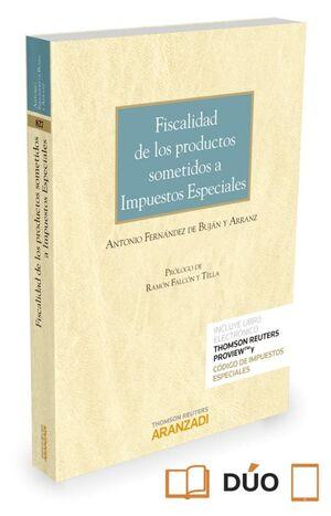FISCALIDAD DE LOS PRODUCTOS SOMETIDOS A IMPUESTOS ESPECIALES (PAPEL + E-BOOK)