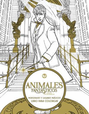 ANIMALES FANTÁSTICOS Y DÓNDE ENCONTRARLOS: PERSONAJES Y LUGARES MÁGICOS. LIBRO P