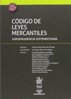 CÓDIGO DE LEYES MERCANTILES JURISPRUDENCIA SISTEMATIZADA