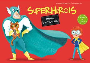 SUPERHEROIS. MANUAL D'INSTRUCCIONS